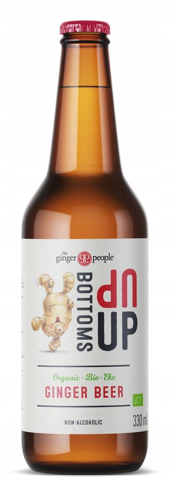 Био-имбирь безалкогольное безглютеновое пиво 330 м