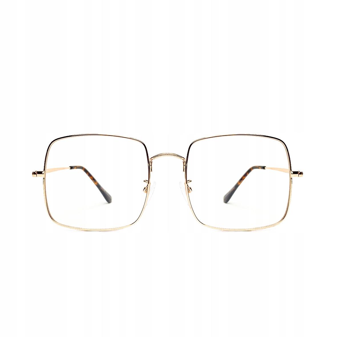 Gripové okuliare Vintage Retro Square Big