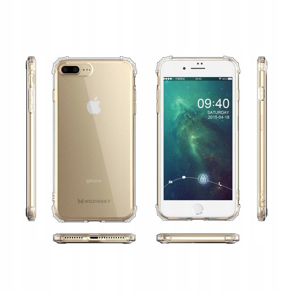 Pancerne etui A-Shock + szkło do iPhone 7 / 8 Plus Załączone wyposażenie szkło hartowane