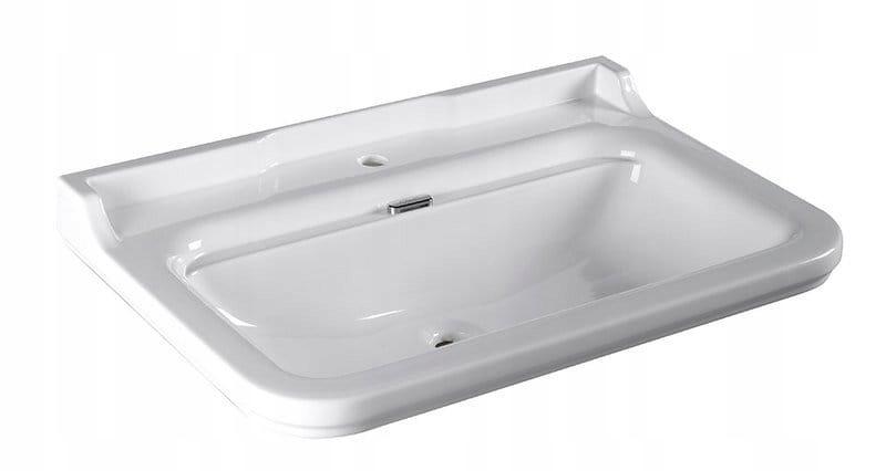Závesné umývadlo RETRO 80x55cm, biele WALDORF