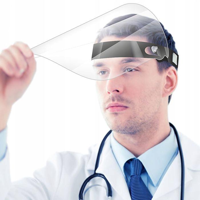 PODNOSZONA PRZYŁBICA ochrona na twarz Osłona Maska
