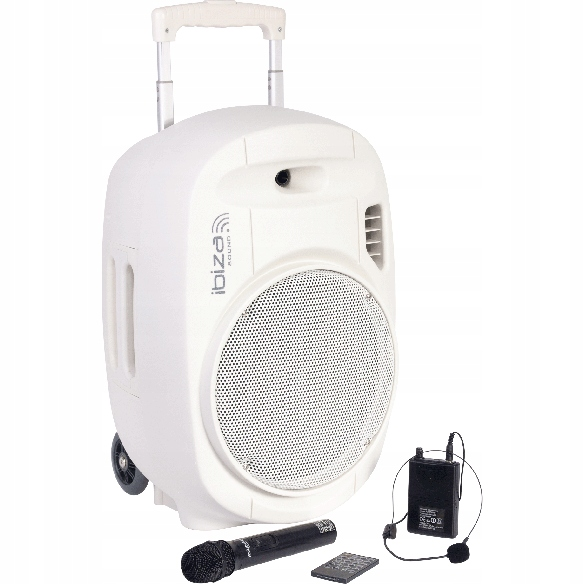 Mobilný stĺpec Ibiza Port 700W- Mikrofóny Gratisis
