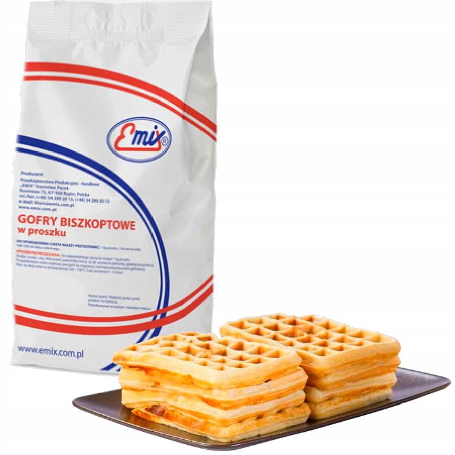Emix Mixture Dough для бисквитных вафель 5 кг