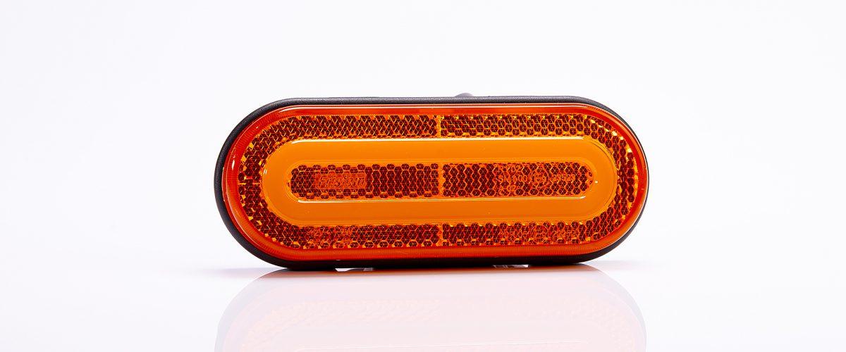 лампа габаритный диодов led 1224 оранжевый fristom