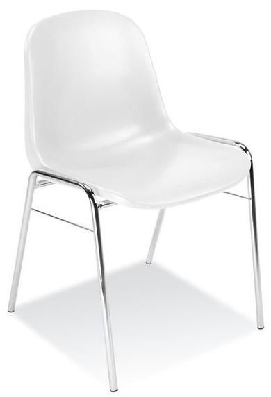 Stoličky v čakárni łatwozmywalne BETA biela NS