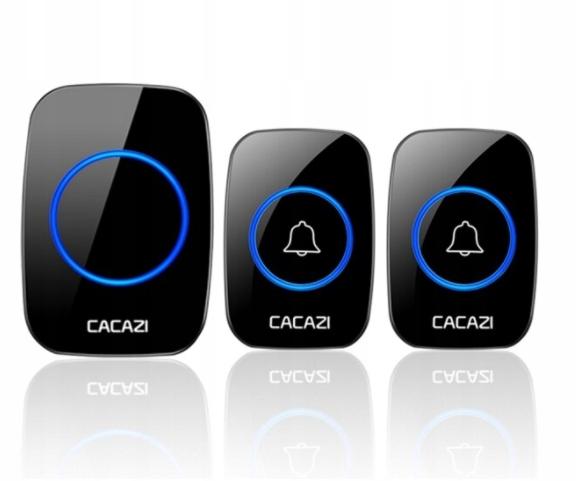 Беспроводной дверной звонок CACAZI A10 300 м 110 дБ