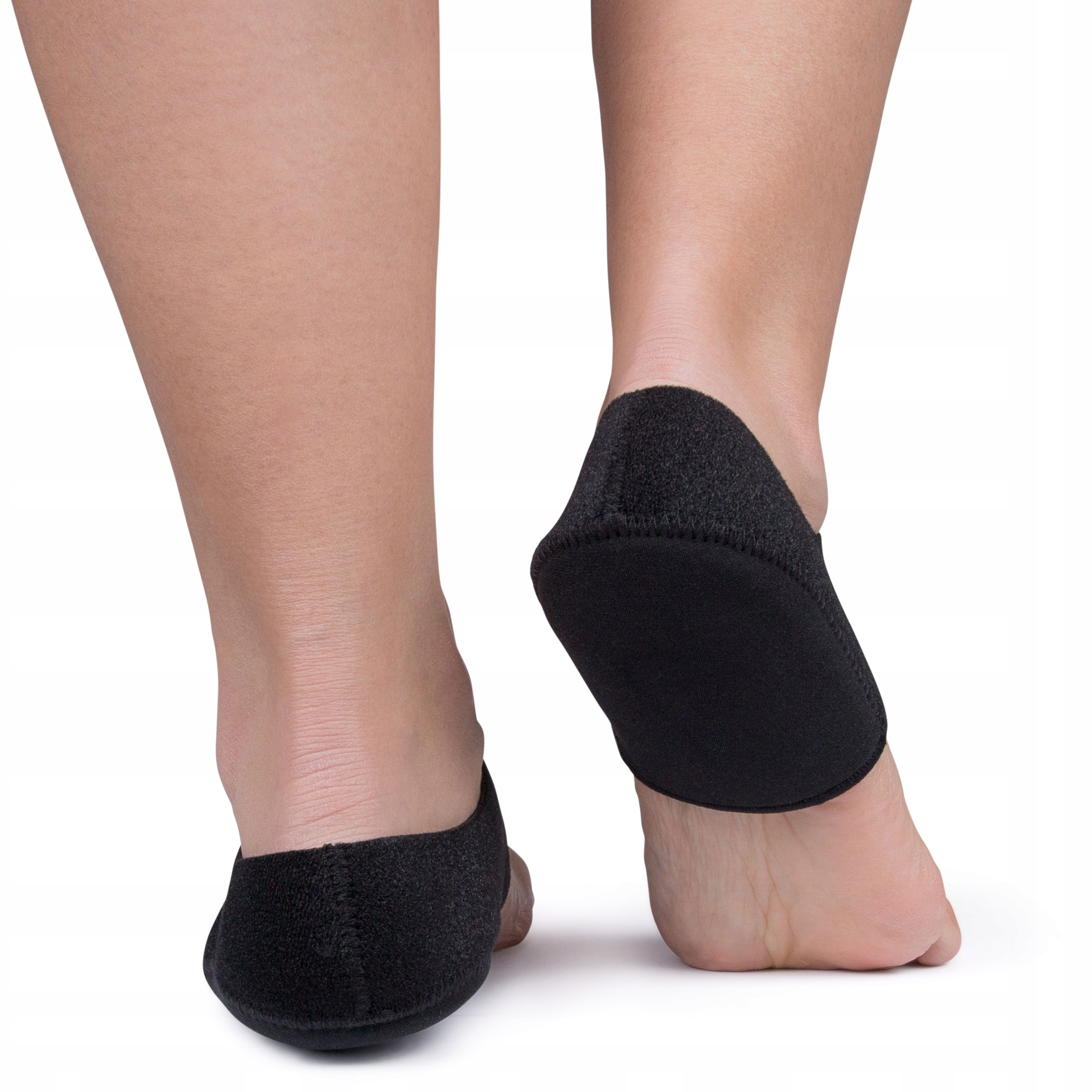 Гелевые пяточные накладки с пяточной защитой и вставками для обуви