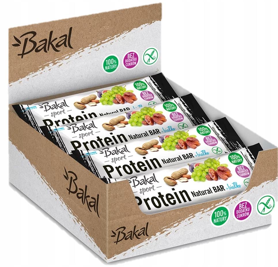 Бакал батончик Sport Protein 12 х 35 г