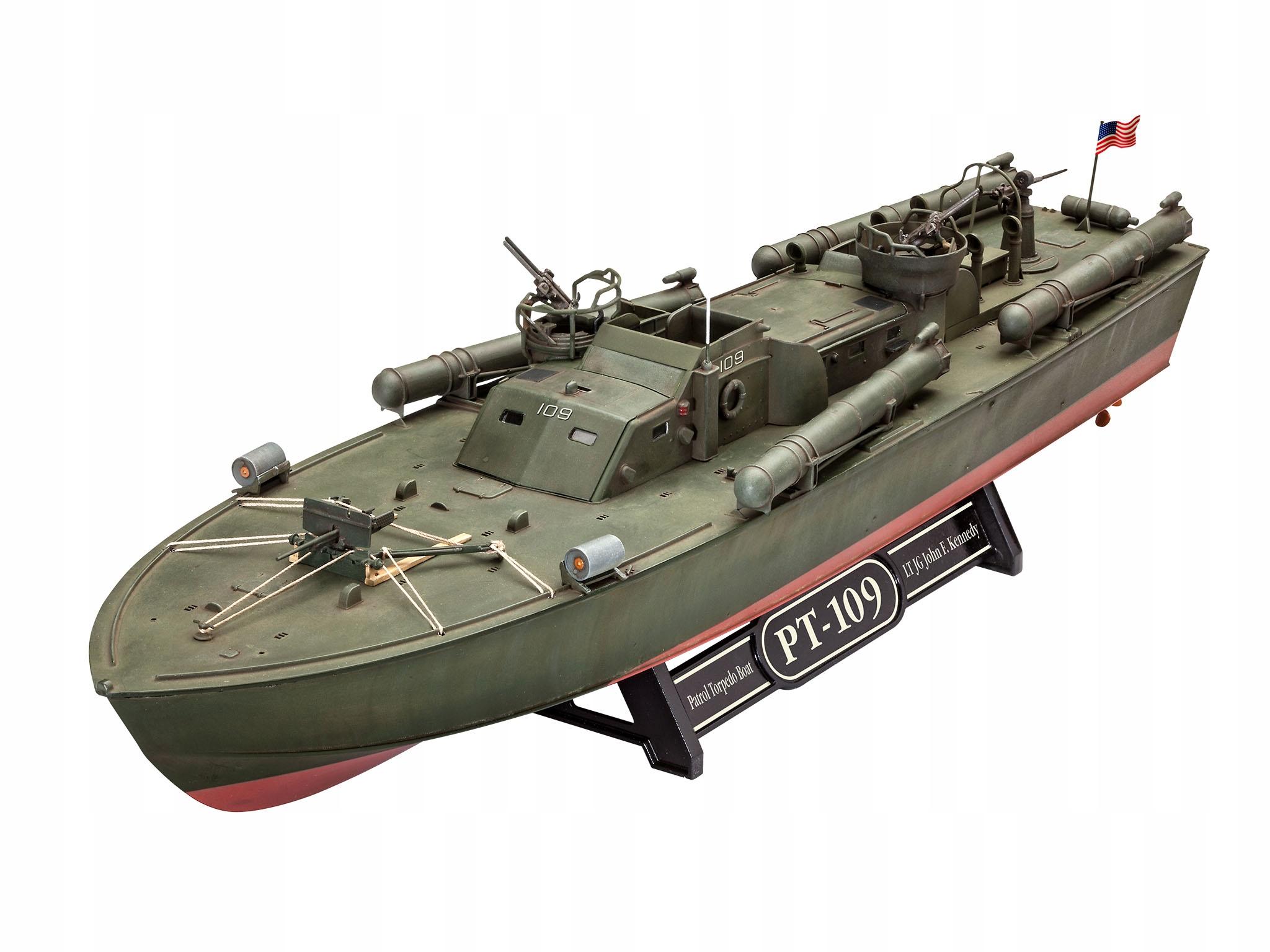 Model Revell 1:72 PT-109 PATROL TORKPEDO BOATHO 05147