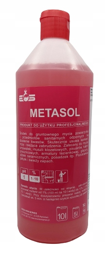 METASOL Strong Liquid для мытья туалетов, ванных комнат, стекол
