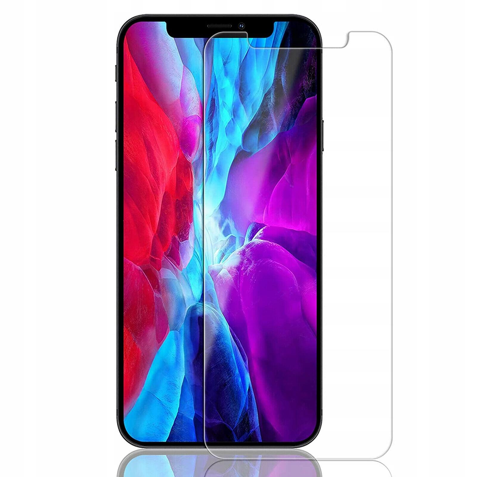 Slank CASE CLEAR + 9H glass til IPHONE 12 Mini Designet for Apple
