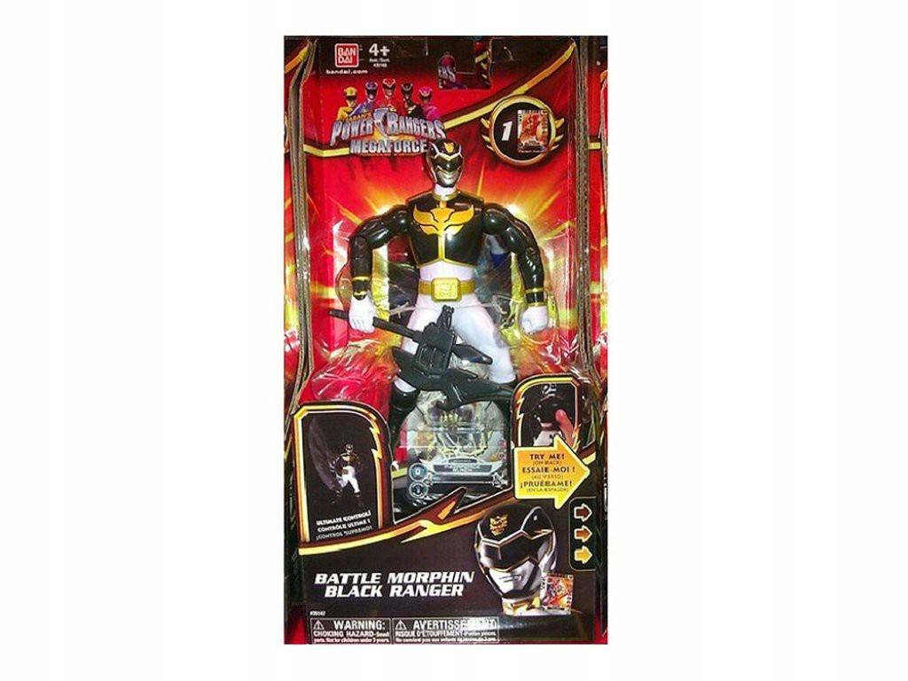 Power Rangers: Megaforce s pohybujúcim sa mečom 1440