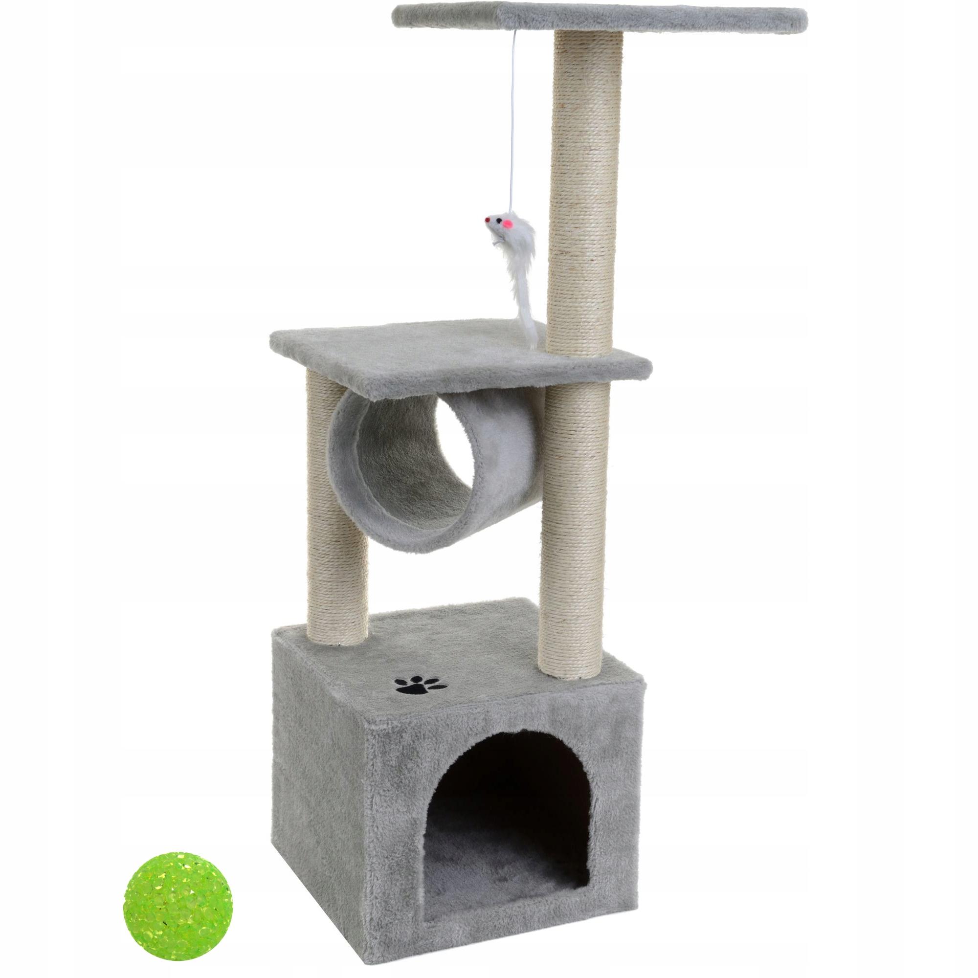 CAT CLIPPER HOUSE LOCK POST 90CM + ШАР