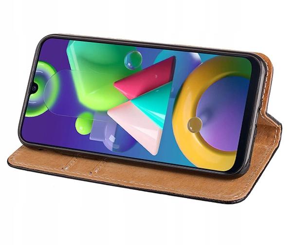 ETUI SKÓRZANE PORTFEL +SZKŁO do Samsung Galaxy M21 Kod producenta 5900217353386