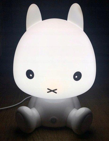 LAMPKA NOCNA DLA DZIECI KRÓLIK BIAŁY FIFI LED USB Marka Cogio Kids