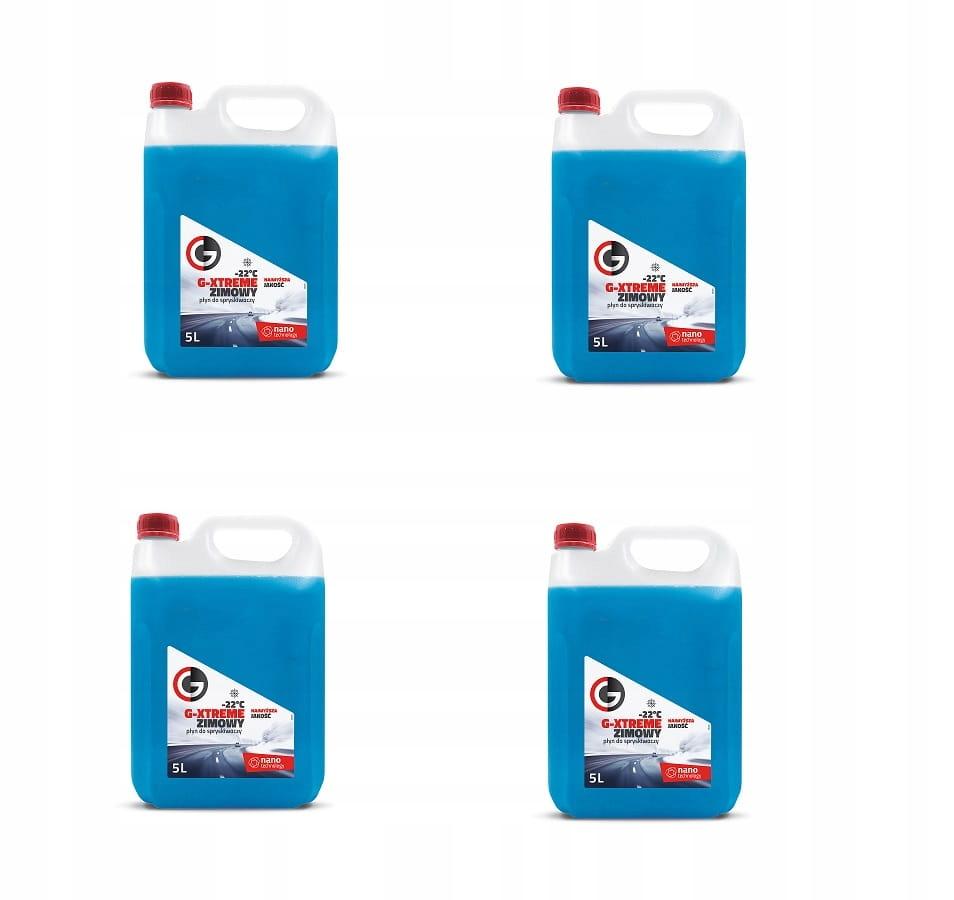 Zimowy płyn do spryskiwaczy -22C 4x5l dla firm