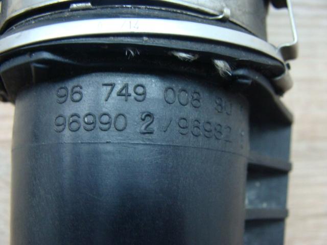 Peugeot 508 .2 L Diesel Przewód Wąż Powietrza 3