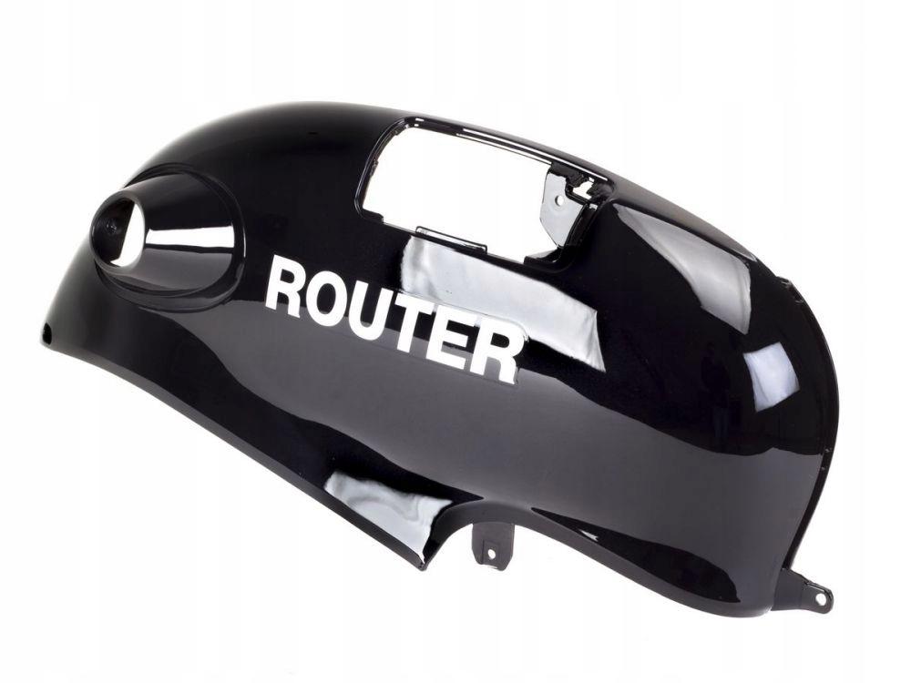 Ľavý bočný kryt Router Romet Retro 2013 čierny