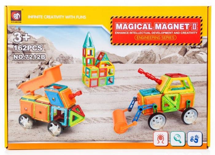 MAGNETICKÉ PLATNICE MAGICKÝ MAGNET 162 ELEM. Y43