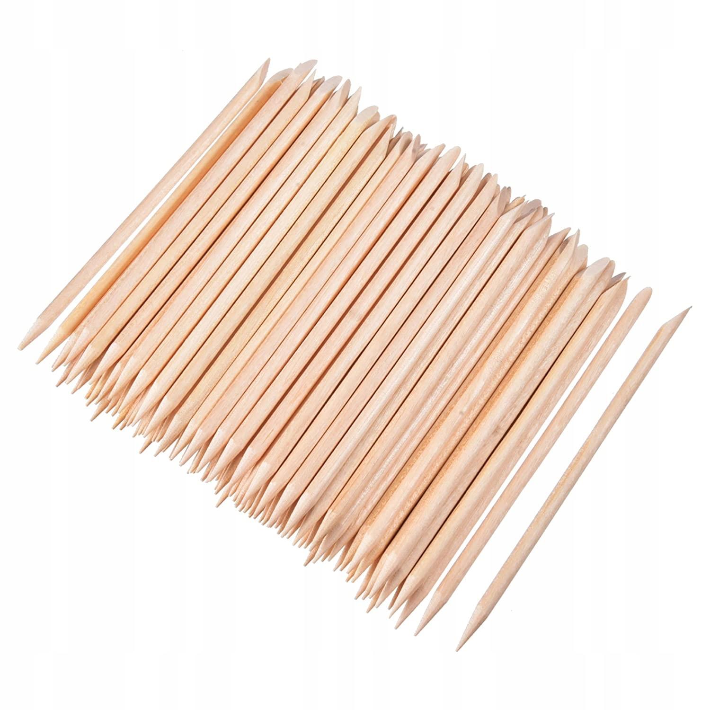 Patyczki drewniane do skórek Manicure Kosmetyczne Marka inna marka