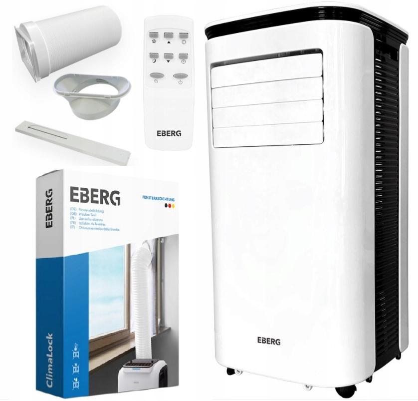 Купить Переносной кондиционер EBERG MIRU 2.6kW + ClimaLock на Otpravka - цены и фото - доставка из Польши и стран Европы в Украину.