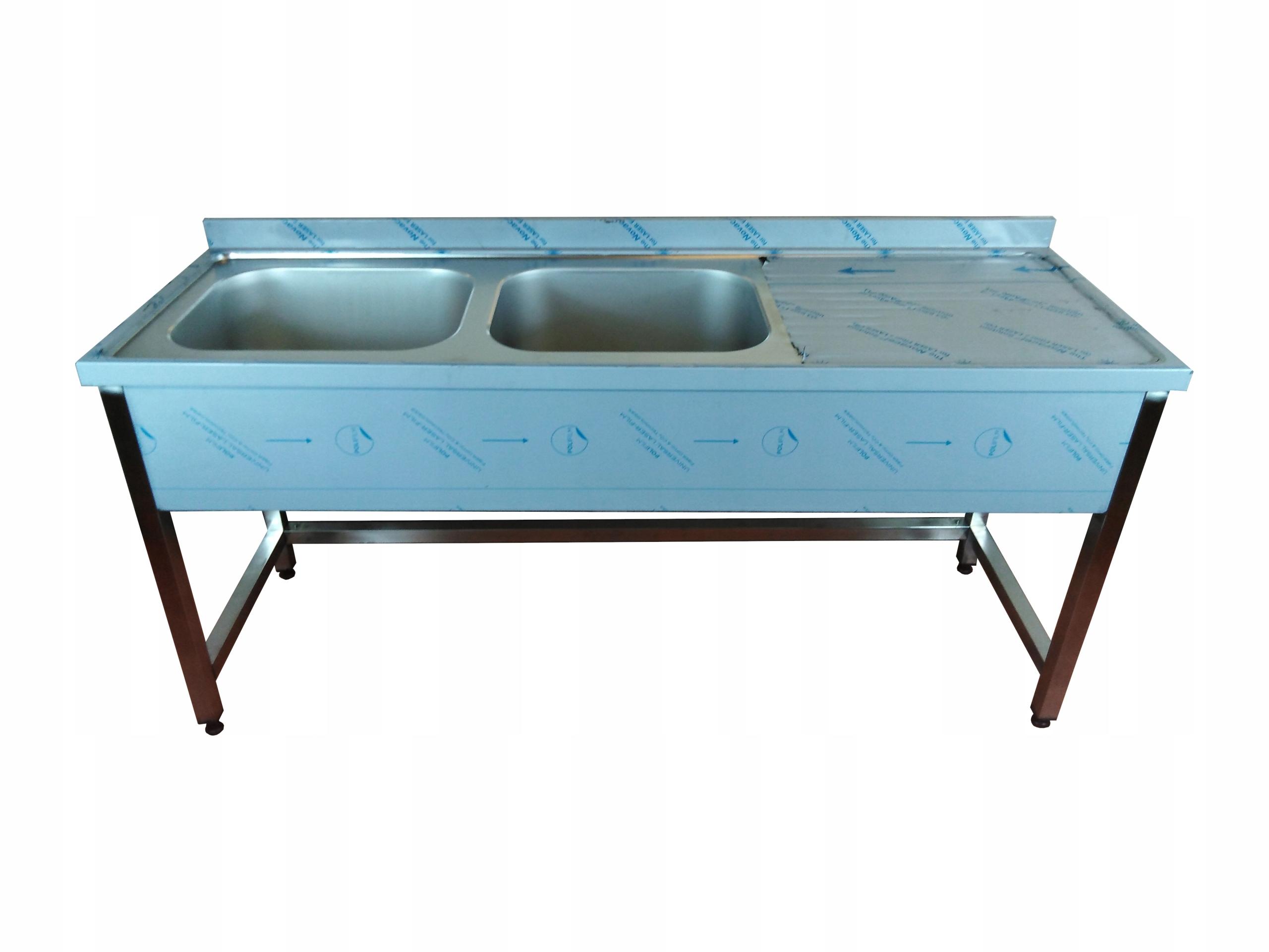 Stół z zlewem Gastronomiczny 160x60x85