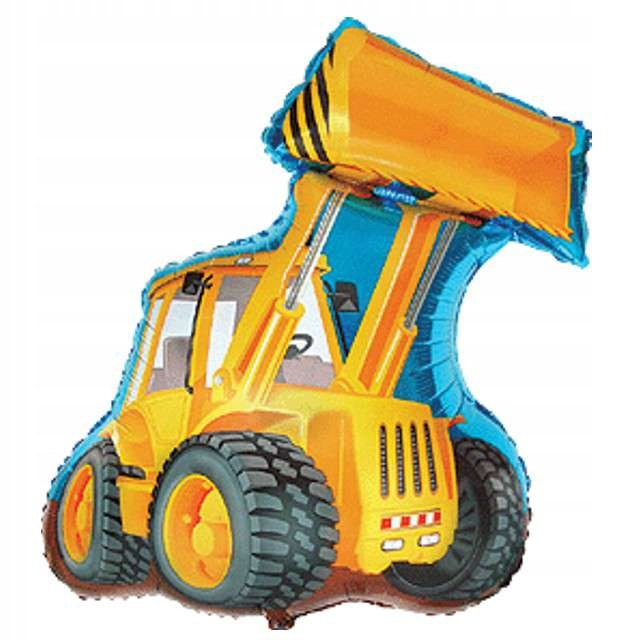 Купить Воздушный шар из фольги желтый BACKHOE Bob the Builder 35 см на Otpravka - цены и фото - доставка из Польши и стран Европы в Украину.