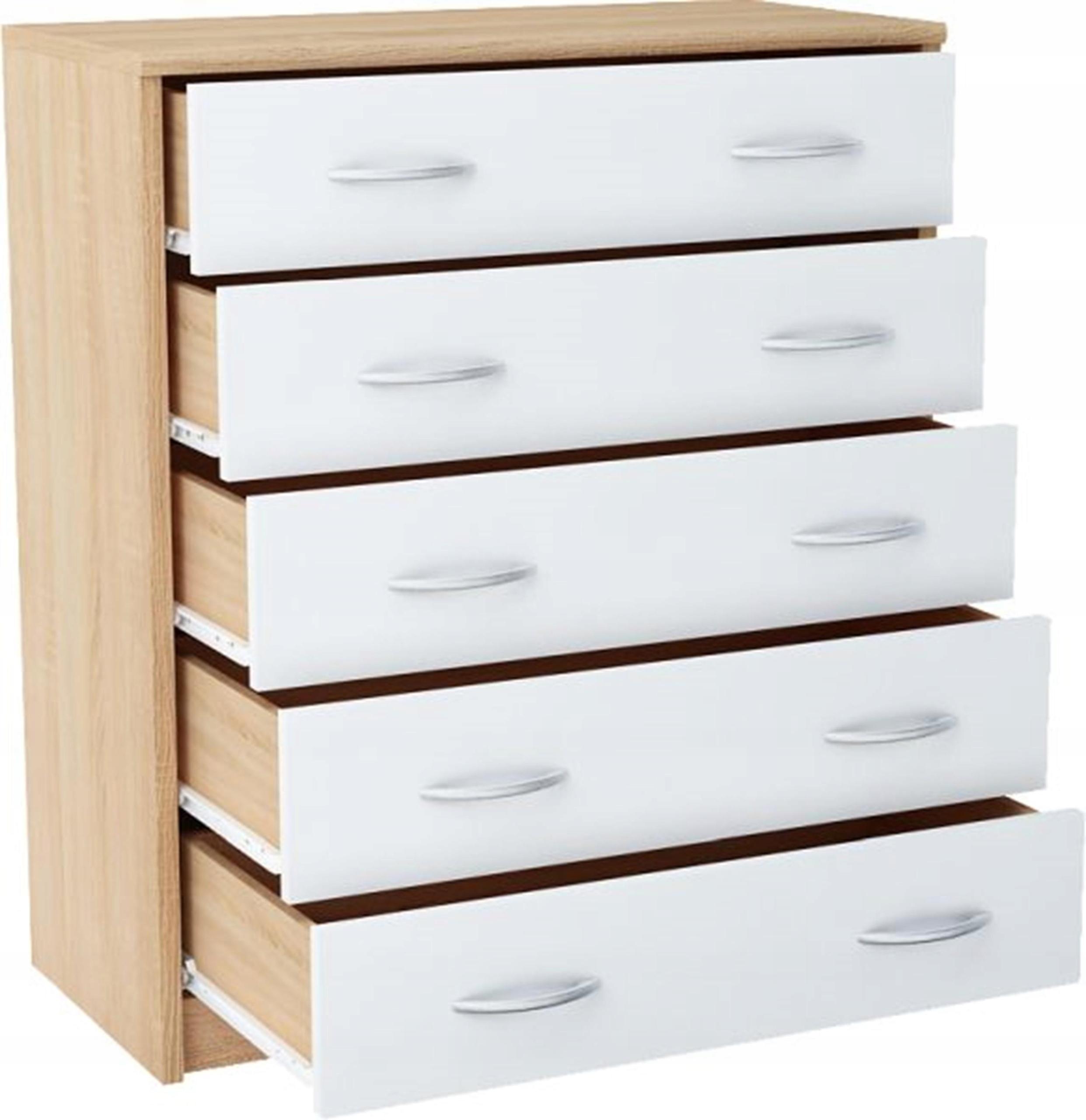 Комод 5S WHITE-SONOMA шкаф книжный с 5 ящиками