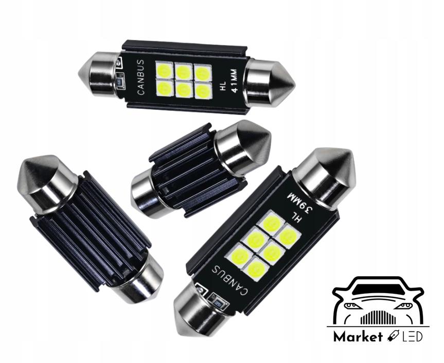 Żarówka C5W CANBUS - Rejestracja/Wnętrze. - 36mm EAN 123456789012
