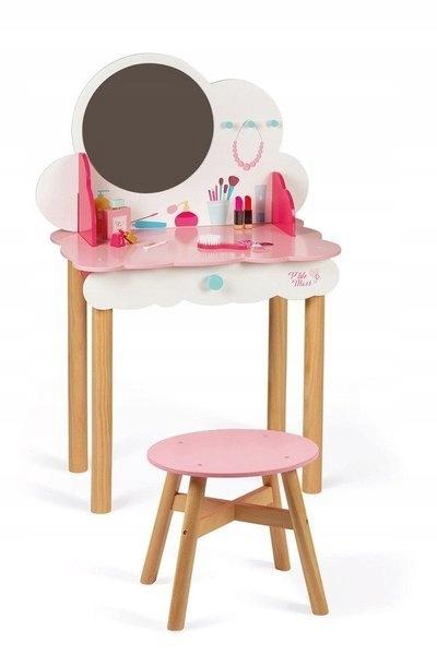 Toaletný stolík s mnohými doplnkami, malá slečna Janod
