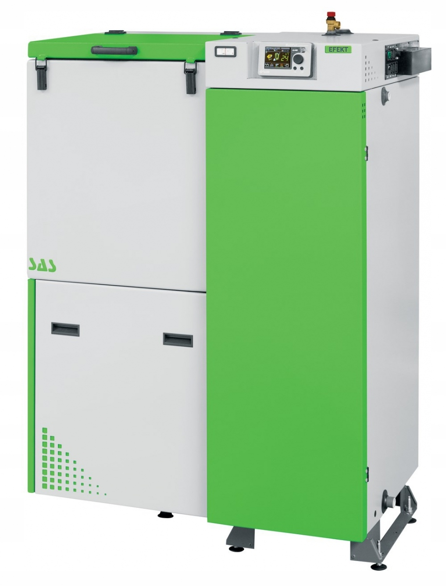 Kotol SAS Effect 14 kW na ekologické hrachové uhlie do 160 m2
