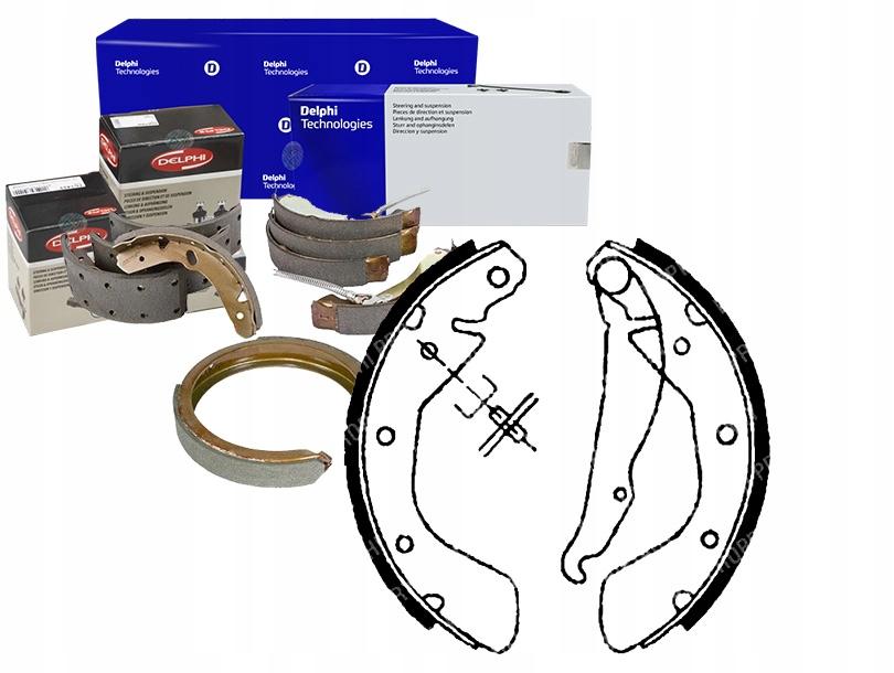 комплект - комплект тормозных колодок [delphi хэм]