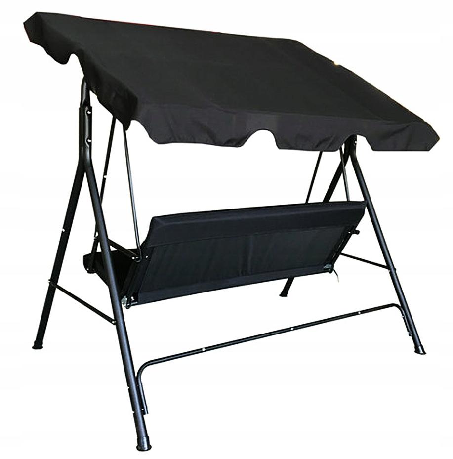 3 OSOBNÁ ZÁHRADNÁ Hojdačka MATRACE + 2x vankúš dĺžka sedadla 50 cm