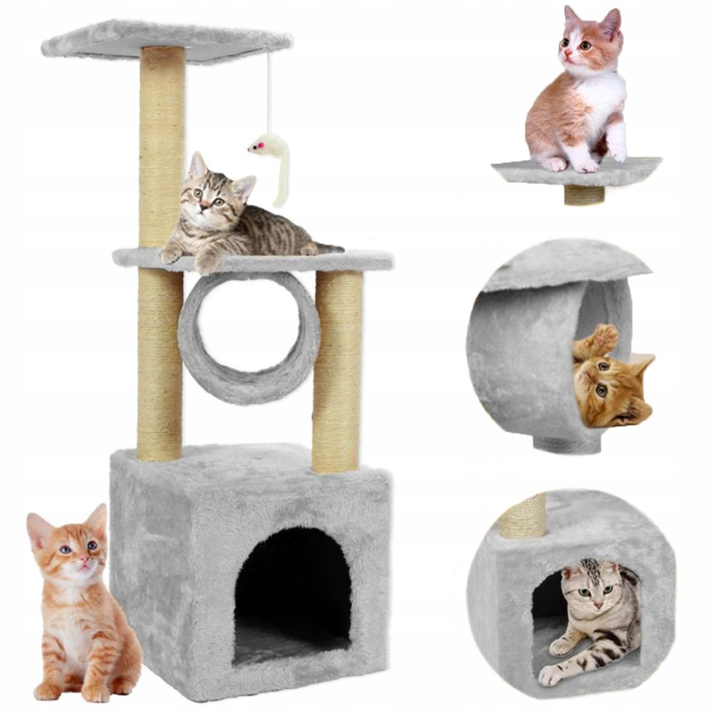 CAT CLIPPER Игрушка на дереве ДОМ + Логово