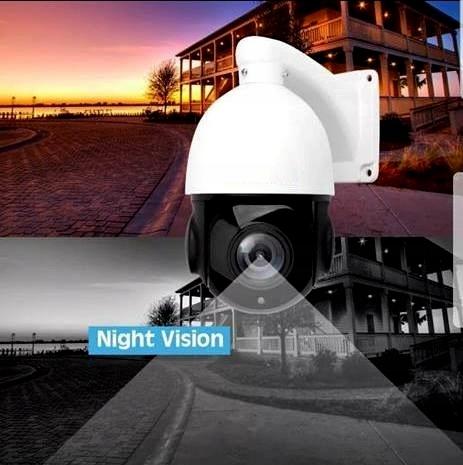 Kamera Obrotowa IP sieciowa 4K 8MPX IR100m 30xZoom Obudowa kopułkowa (dome)