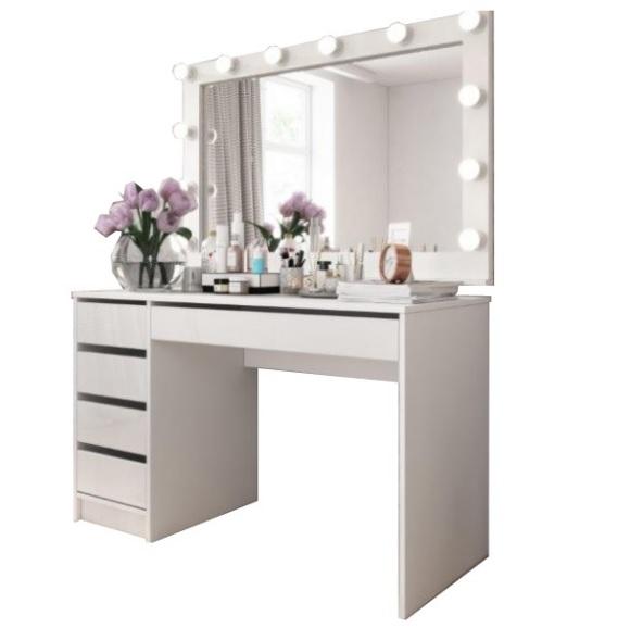 Toaletka kosmetyczna biała do makijażu wizażu ADI - 499 zł - Allegro.pl - Raty 0%, Darmowa dostawa ze Smart! - Kępno - Stan: nowy - ID oferty: 9320376151