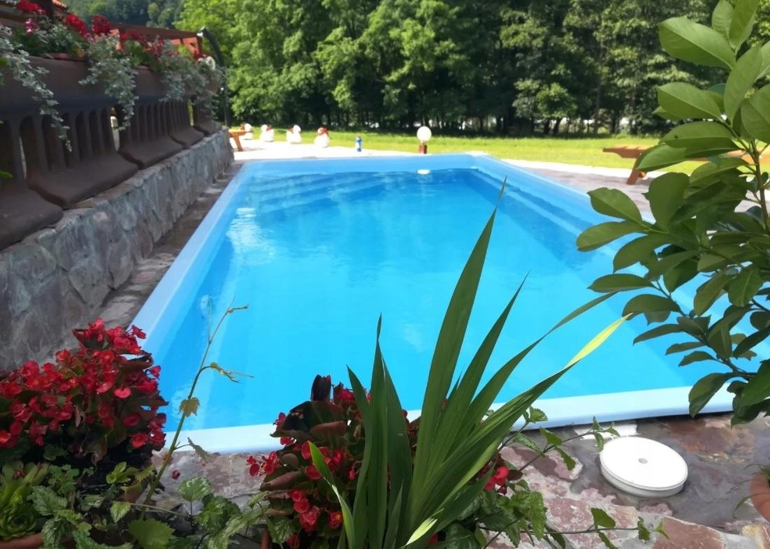 Садовый бассейн из полиэстера 650x300x155 КОМПЛЕКТ -10%