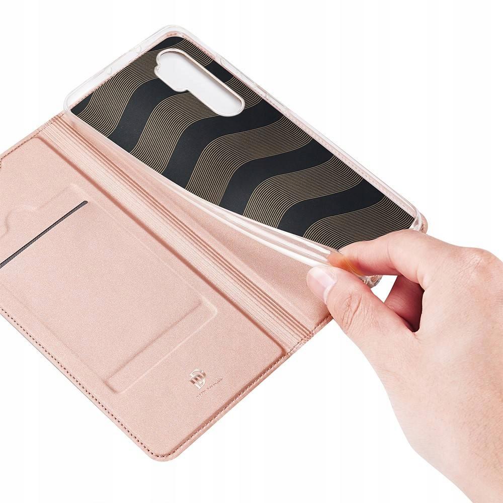 Etui DUXDUCIS + szkło UV do Xiaomi Mi Note 10 Lite Materiał skóra ekologiczna