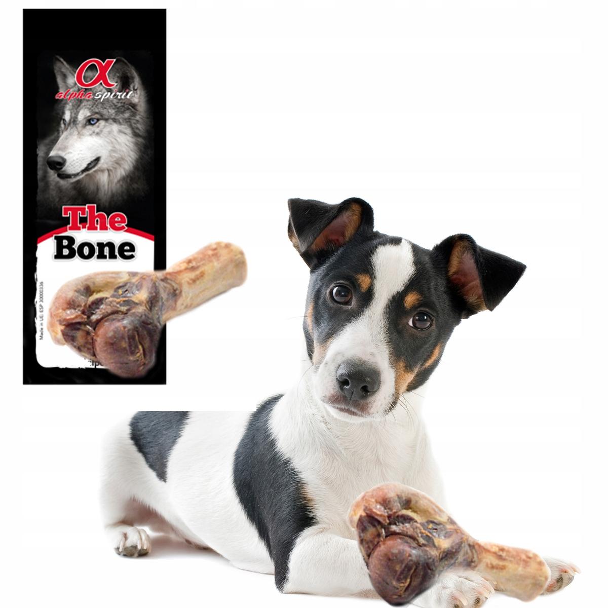 ALPHA SPIRIT KOŚĆ dla psa Mała Noga Szynkowa NR 3