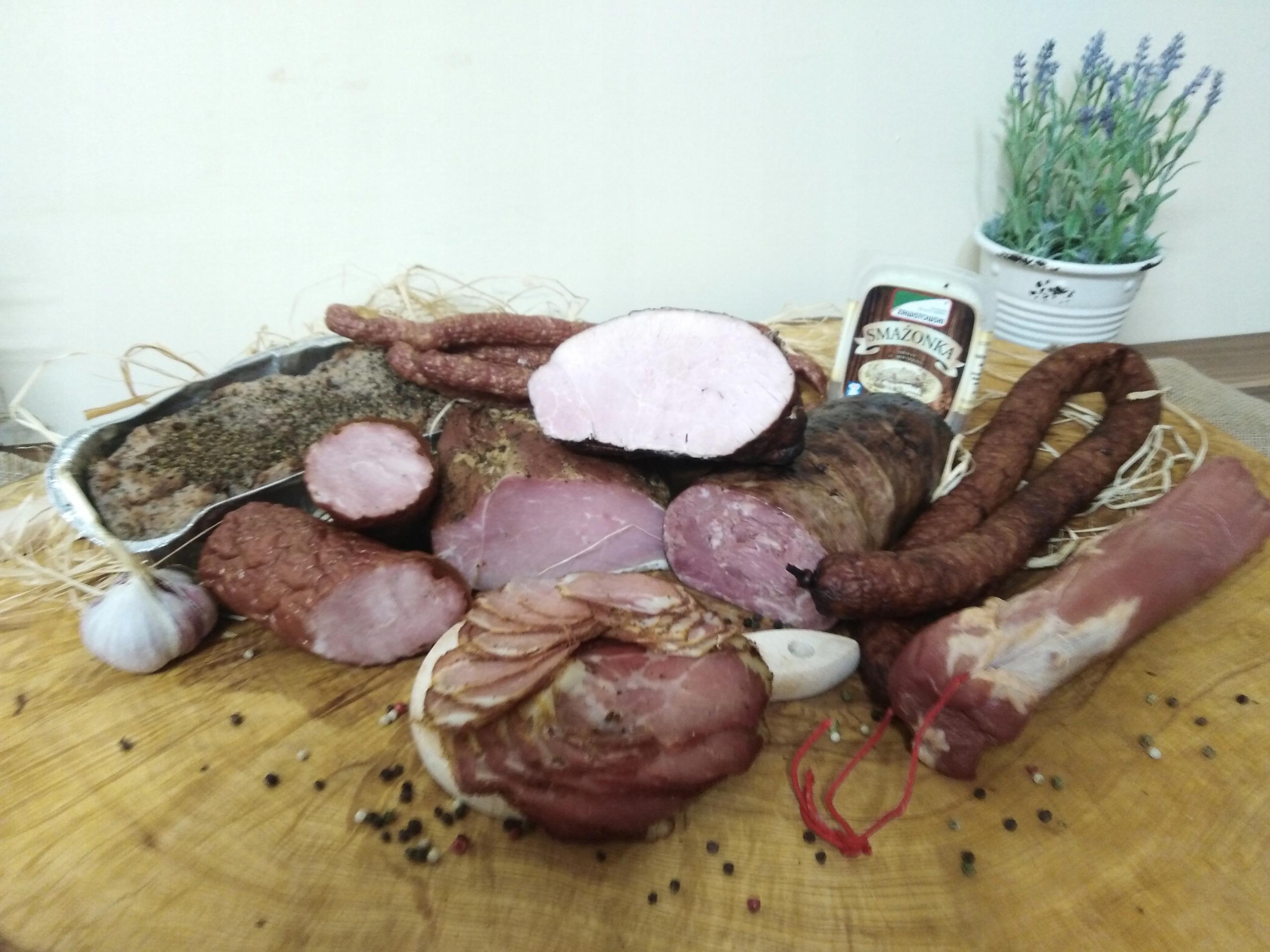 Пачка мясного ассорти Завистовского
