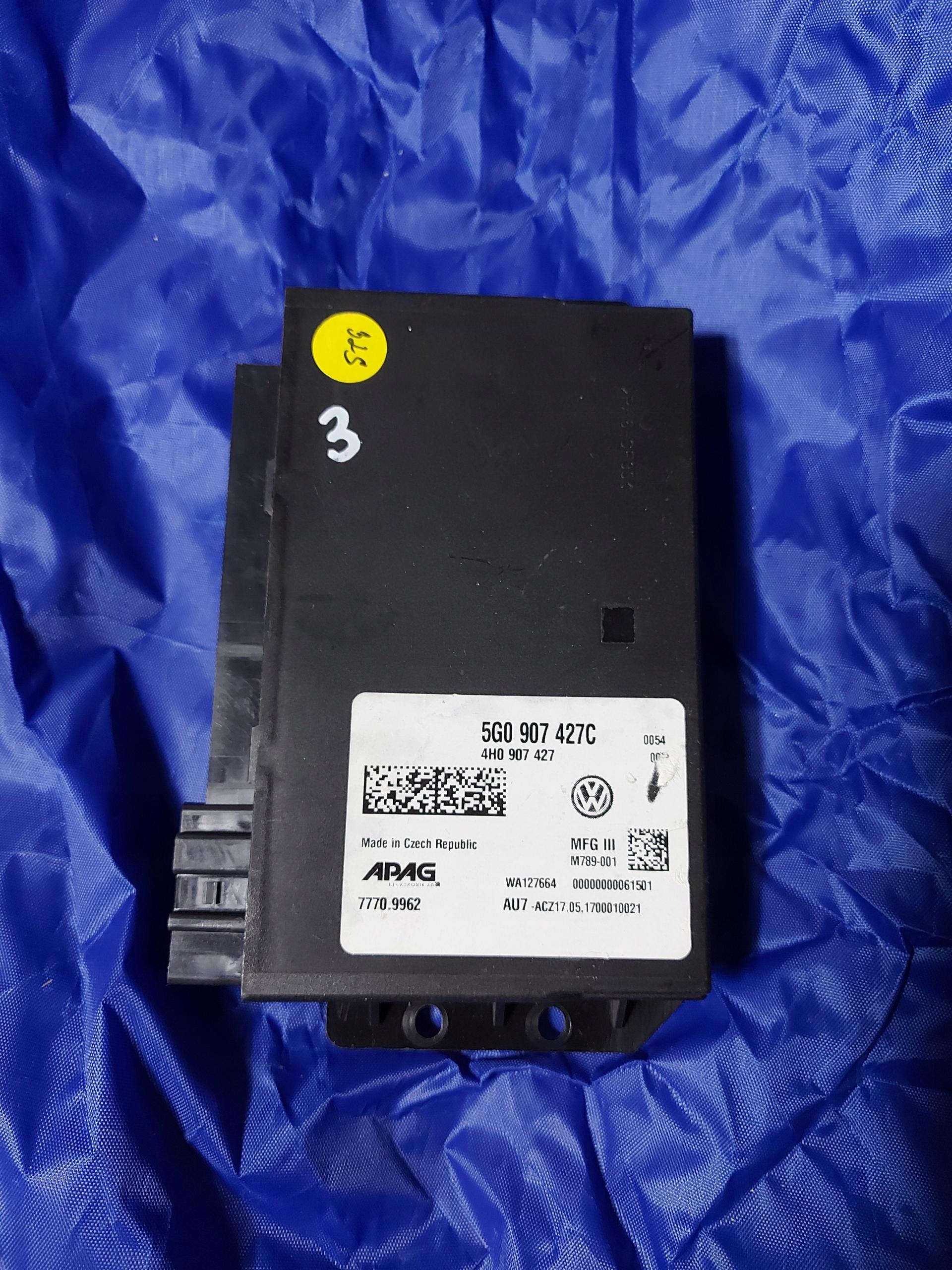 5g0907427c модуль драйвер audi vw