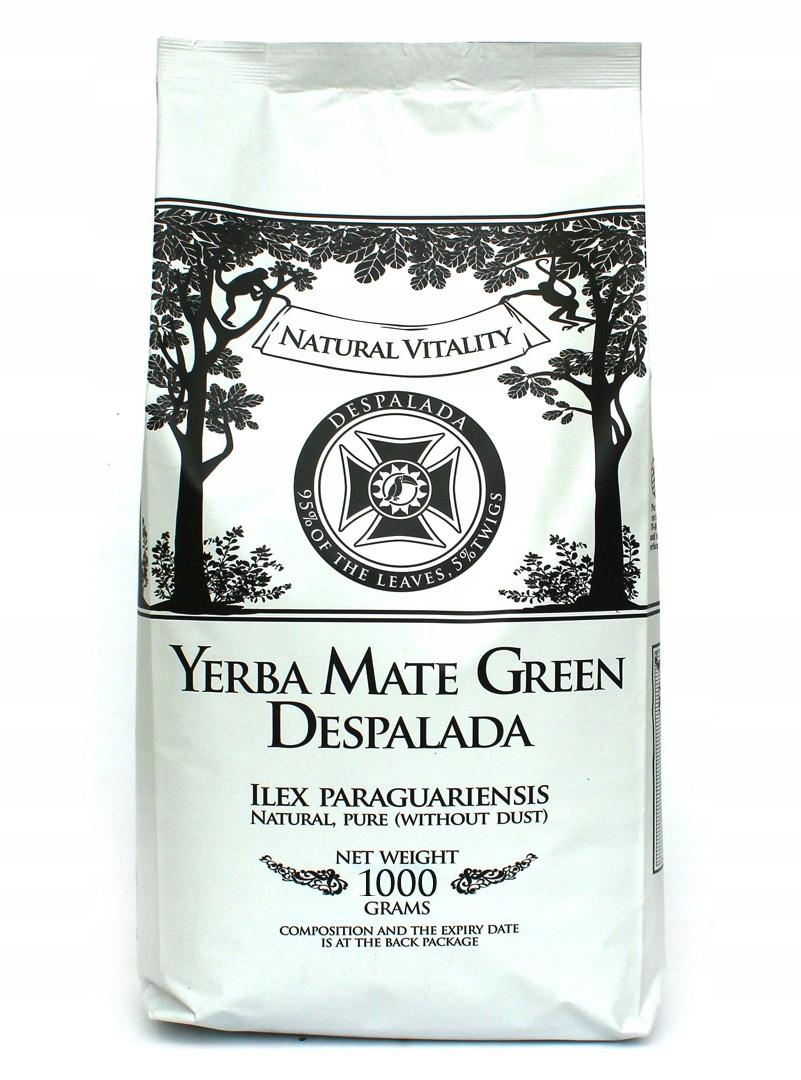 Yerba Mate green DESPALADA 1кг sin palo 1000g