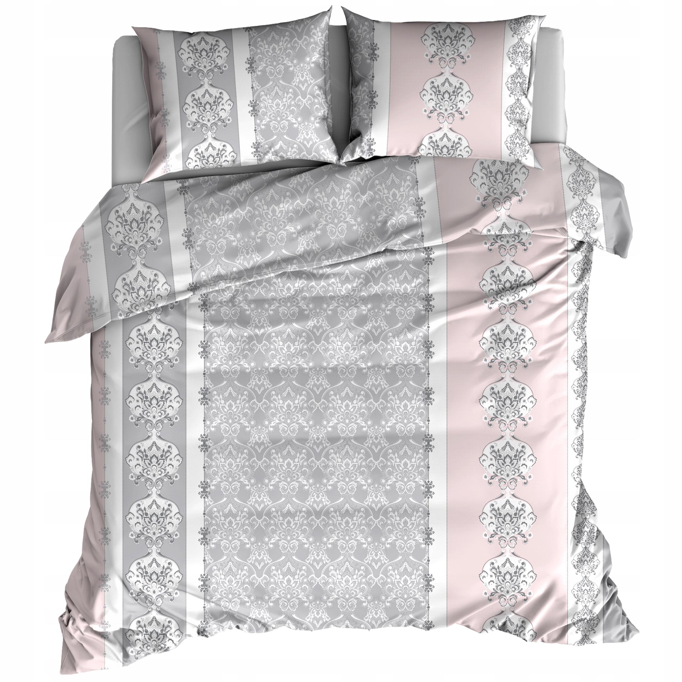 Flanelová posteľná súprava 160x200 Pink Retro