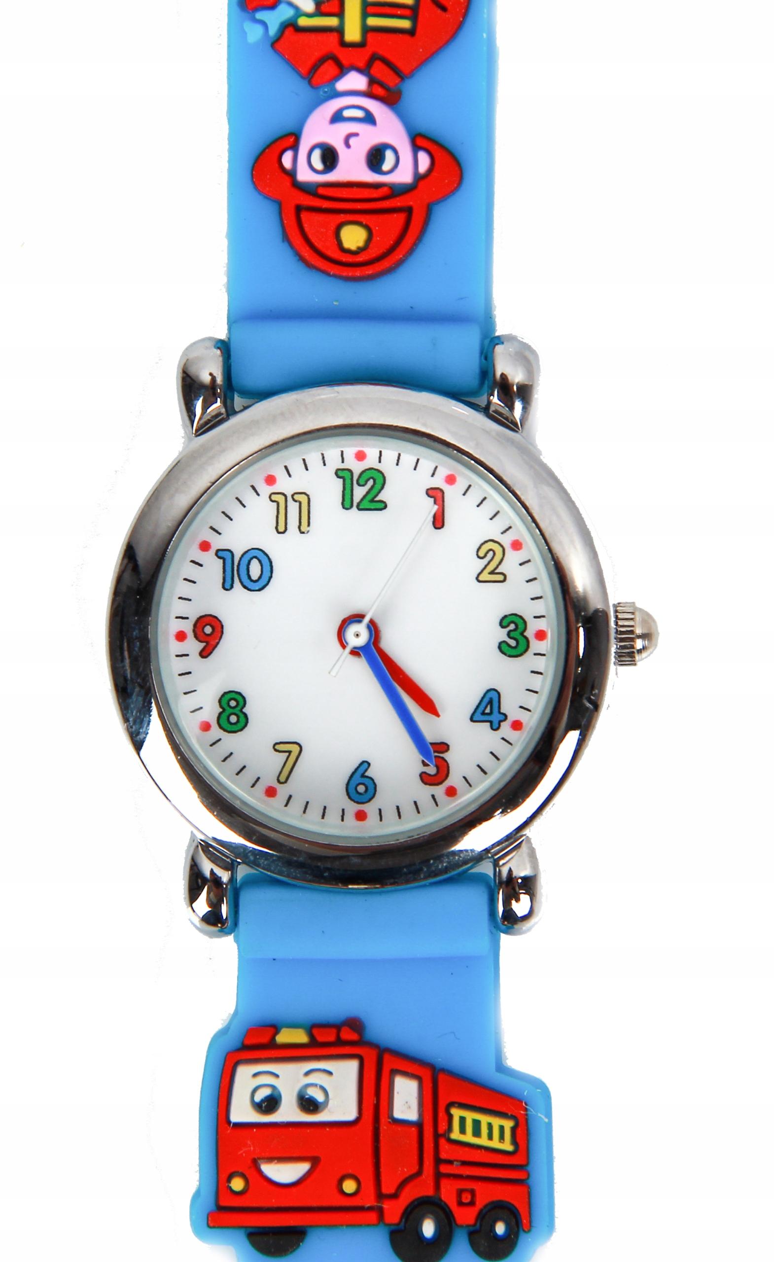 zegarek na reke dla chopca strazak sam