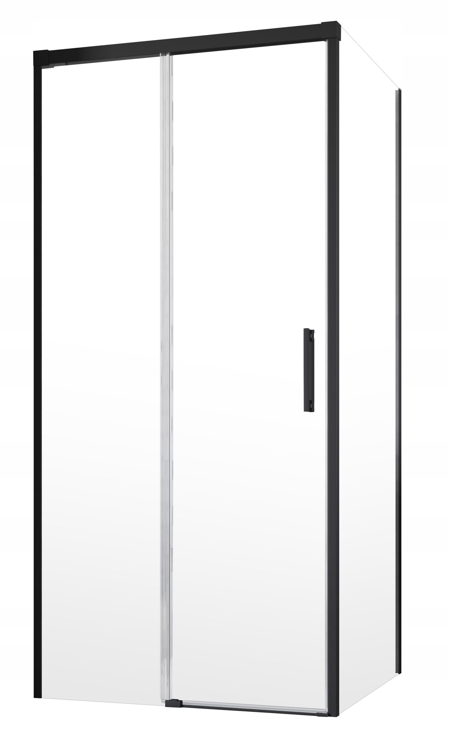 Kabína Idea Black KDJ 160x70x200,5 RADAWAY
