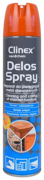 CLINEX Delos Spray 300 мл для чистки и сияния мебели