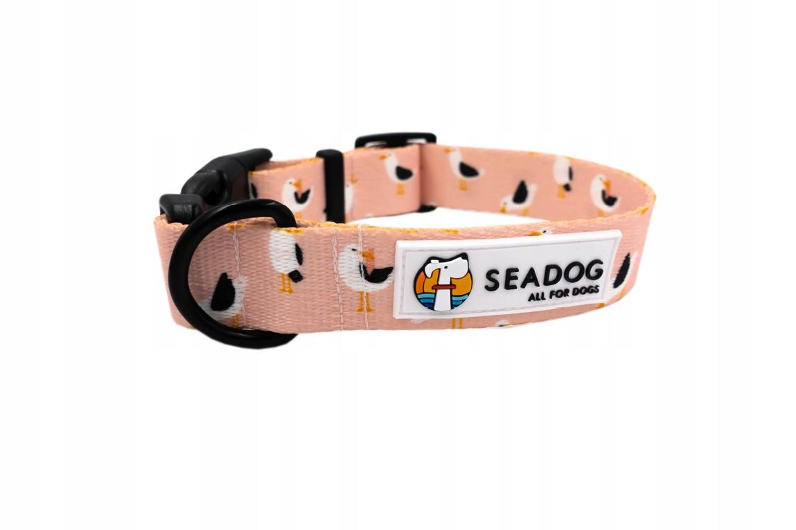 Obroża Dla Psa Seadog To Nie Ja Byłam Mewą [s/m]