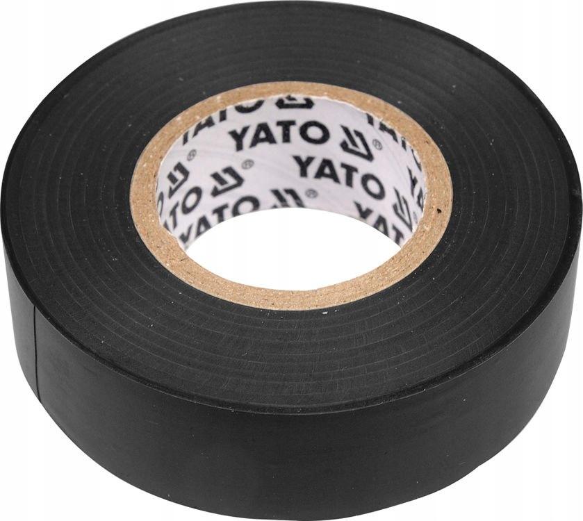 YATO YT-8152 ЛЕНТА ИЗОЛЯЦИОННАЯ ЧЕРНАЯ, 12ММ Х 10М
