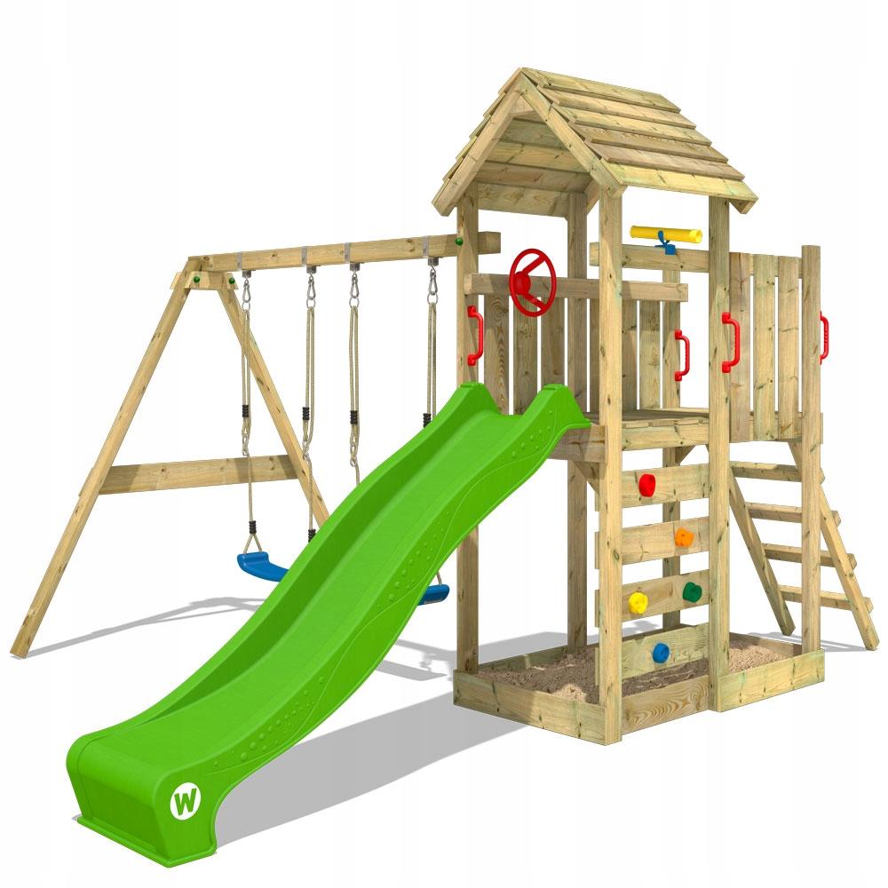 WICKEY MultiFlyer drewniany plac zabaw dla dzieci