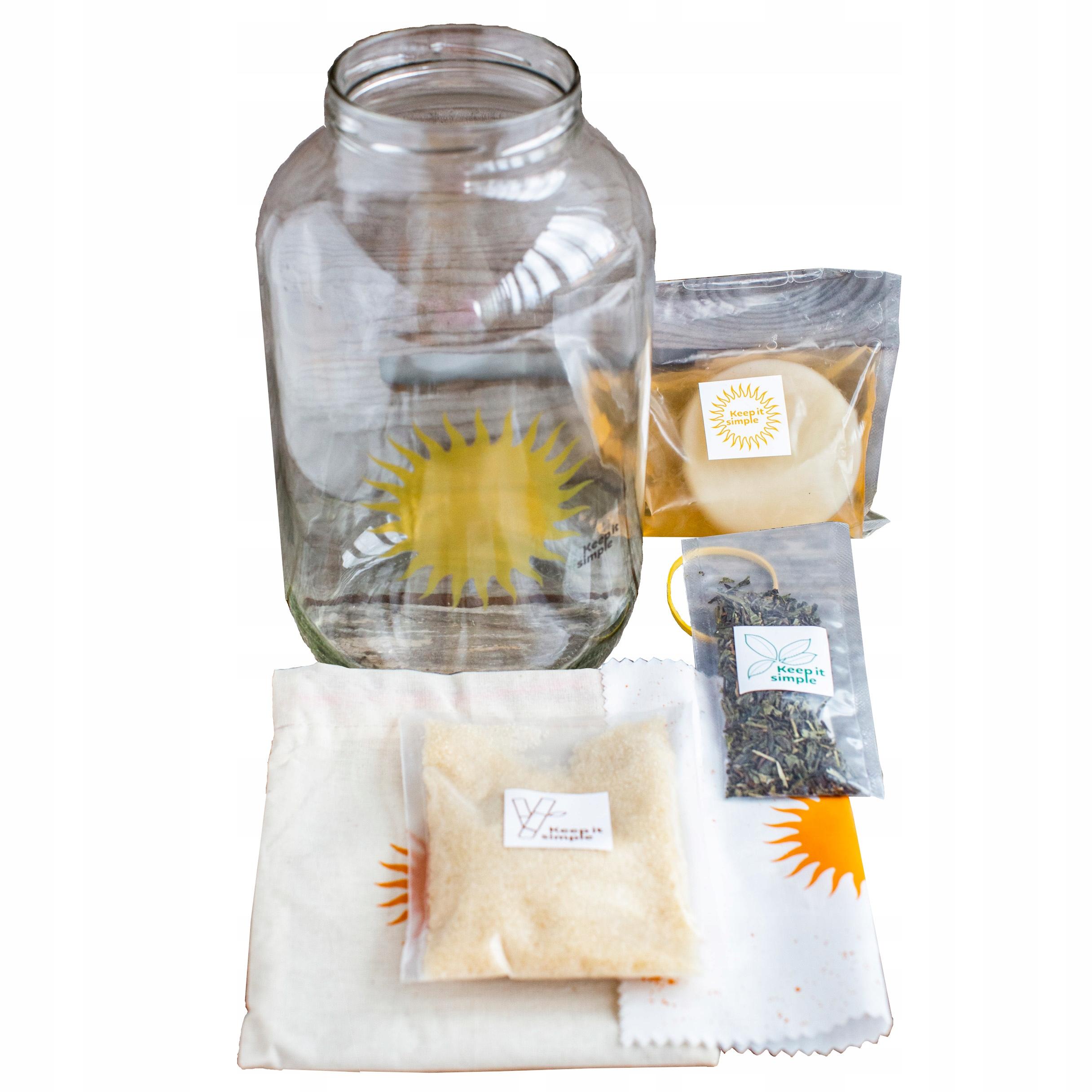 Kombucha Grzyb Herbaciany KiS Starter Plus